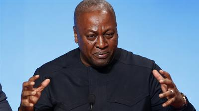 John Mahama on Ghana, The Gambia and the ANC's decline