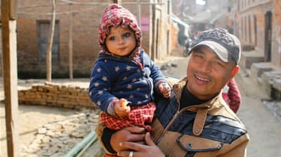 Nepal one year on: The baby pulled from the rubble