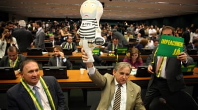 Brazil tense as MPs begin impeachment debate