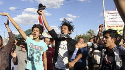 Iraqis protest as political deadlock deepens