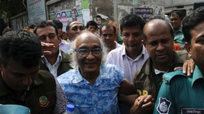 Bangladesh denies editor arrest politically motivated