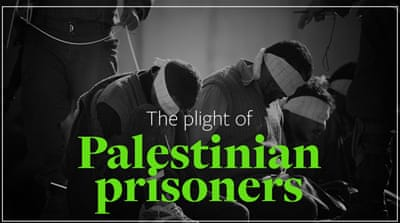 How many Palestinians are imprisoned by Israel?