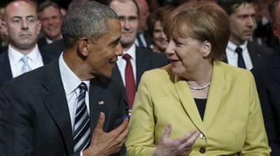 TTIP trade pact: Obama pushes deal on Germany visit
