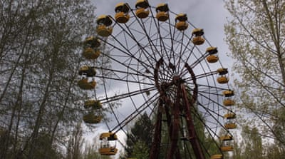 Return to Chernobyl with Ukraine's 'liquidators'