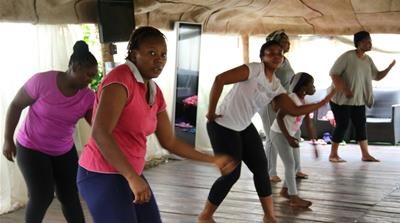 Afrobics: Fitness to an African beat
