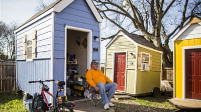 Are tiny homes a solution to homelessness  in the US?