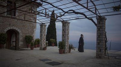 Wired on Mount Athos