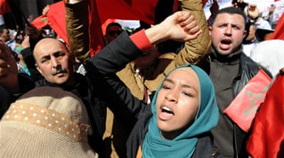 Moroccans protest against alleged UN bias in favour of Western Sahara [File:Abdelhaq Senna/EPA]