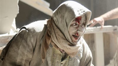 About 200 people have been killed in Aleppo since a hospital there was hit on Thursday [Reuters]