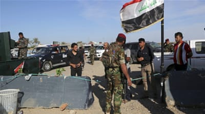 Iraq's military is trying to retake parts of Anbar province and Mosul city from ISIL [AP]