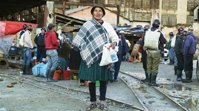 Bolivian women mining for a living and for respect