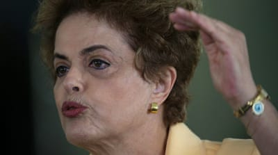 If two-thirds of Congress approve the motion for impeachment, Rousseff will be sent for trial in the Senate [AP]