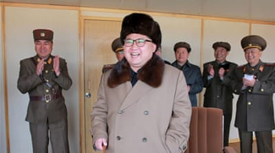 Kim Jong-un attended a test of a new type of ground-to-air guided weapon system on April 2, 2016 [File - KCNA/Reuters]