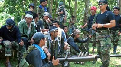Abu Sayyaf had earlier threatened to kill one of the three male hostages if a large ransom was not paid [AP]