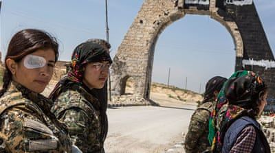 Meet the female Kurdish fighters battling ISIL