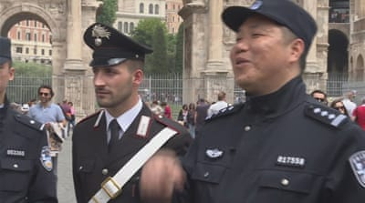 Chinese police on patrol in Italy to boost tourism