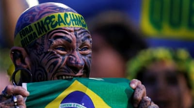Brazil divided over Dilma Rousseff impeachment