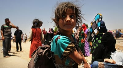 The war against ISIL has left more than 3.4 million Iraqis internally displaced - UN [Getty Images]