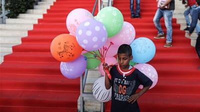 Gaza rolls out the red carpet