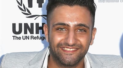 Cannes welcomes Syrian refugee social media star
