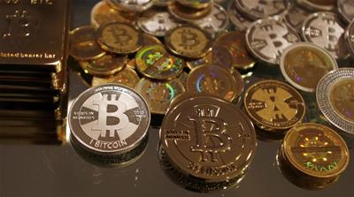 Bitcoin is a virtual currency that is created from computer code, without a central bank [David Gray/Reuters]