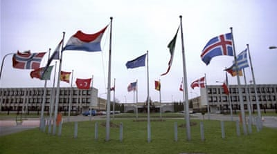The NATO headquarters in Brussels [Getty]