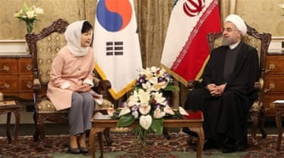 South Korea and Iran established diplomatic ties in 1962 but their heads of states have never had bilateral talks. [Reuters]