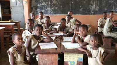 Swapping voodoo convents for classrooms in Benin
