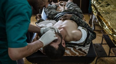 A slow recovery for injured fighters in northern Syria