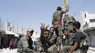SDF released a statement declaring its goal of 'liberating' Raqqa from ISIL [File:Rodi Said/Reuters]