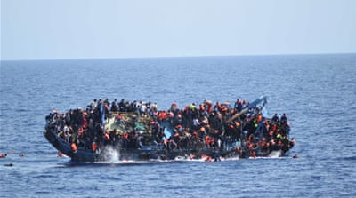 More than 1,370 migrants have lost their lives so far this year as trying to cross to Europe, the IOM says [Reuters]