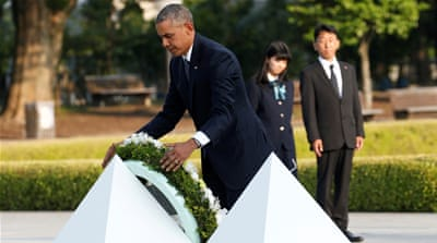 Barack Obama makes historic Hiroshima visit