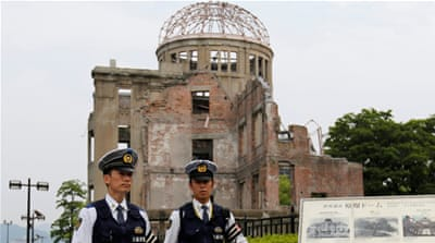 Obama will become the first sitting US president to visit Hiroshima after the US dropped an atomic bomb during World War II [AP]