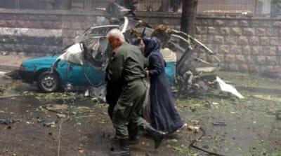 SOFR said rebel shelling of government-held areas killed at least 19 people [SANA/Reuters]