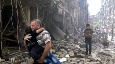Aleppo has been witnessing the worst violence of the conflict and unimaginable levels of human and physical destruction [AP]