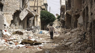 Devastation reigns in Syria's Aleppo