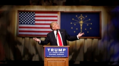 Trump prevailed over Cruz, whose brand of Christian conservatism had been expected to have wide appeal [AP]