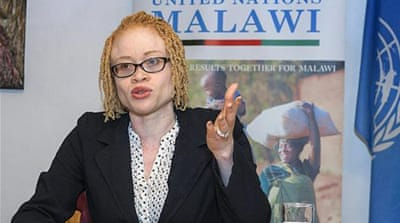 Ikponwosa Ero, who fights for the rights of albinos, says persons with albinism have their remains robbed from graveyards [AFP]