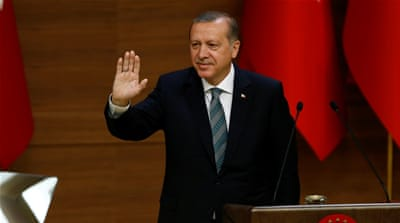 Erdogan has pushed for a broader application of anti-terror laws [Reuters]