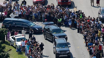 Muhammad Ali's final journey through his hometown