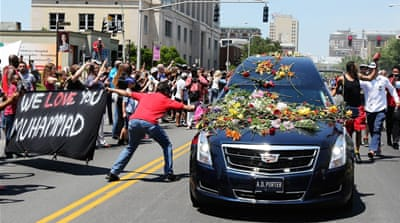 Muhammad Ali laid to rest as world pays tributes