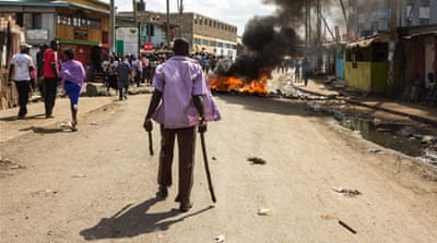 Kenyans protest anti-opposition remarks