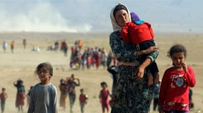 File: More than 3,200 Yazidi women and children are held mostly in Syria by ISIL fighters, the UN says [Ari Jalal/Reuters]