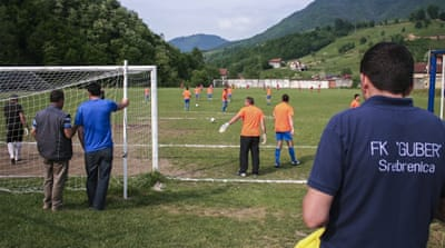 Srebrenica: Playing football on the ruins of genocide