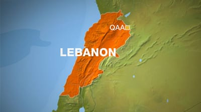 Qaa village in Bekaa valley map [Al Jazeera]