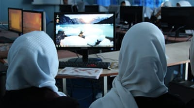 Afghanistan: Using technology to empower women