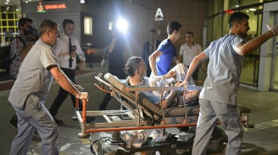 Dozens of people were injured in the attack [Osman Orsal/Reuters]