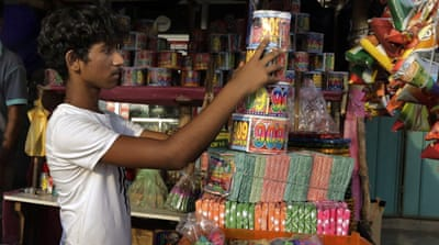 Playing with fire in Sri Lanka's fireworks village