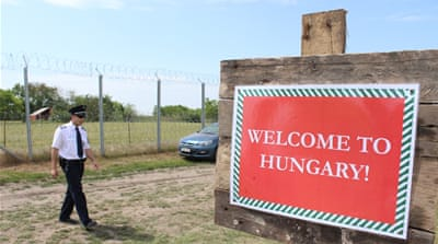 Hungary: Three villages and the fence that divides them