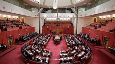 Why is Australia's parliament so white?